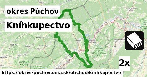 Kníhkupectvo, okres Púchov