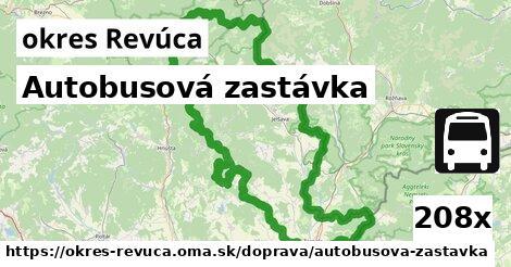 ilustračný obrázok k Autobusová zastávka, okres Revúca