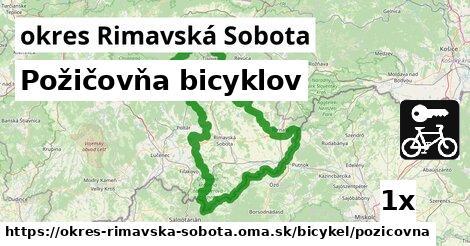 ilustračný obrázok k Požičovňa bicyklov, okres Rimavská Sobota
