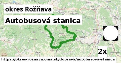 ilustračný obrázok k Autobusová stanica, okres Rožňava