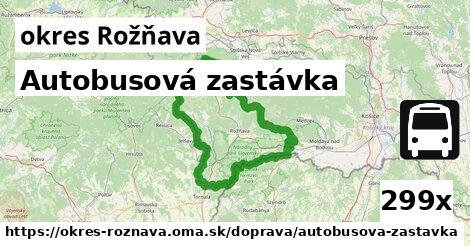 ilustračný obrázok k Autobusová zastávka, okres Rožňava