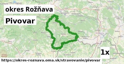 ilustračný obrázok k Pivovar, okres Rožňava