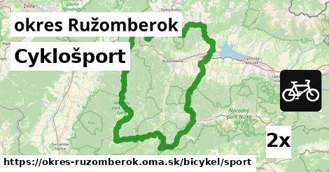 Cyklošport, okres Ružomberok