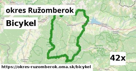 bicykel v okres Ružomberok