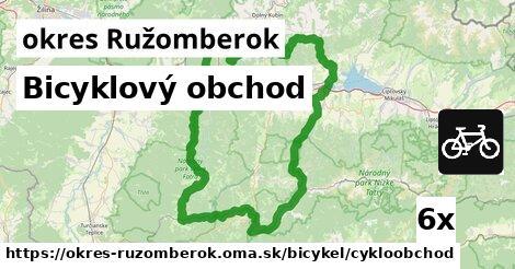 ilustračný obrázok k Bicyklový obchod, okres Ružomberok
