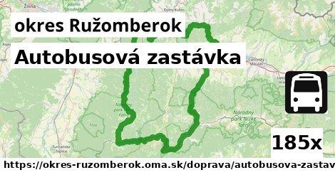 ilustračný obrázok k Autobusová zastávka, okres Ružomberok
