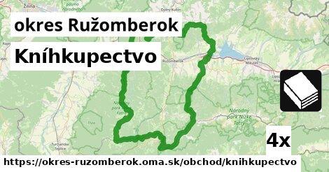 Kníhkupectvo, okres Ružomberok