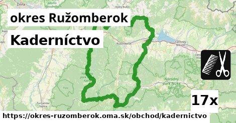ilustračný obrázok k Kaderníctvo, okres Ružomberok