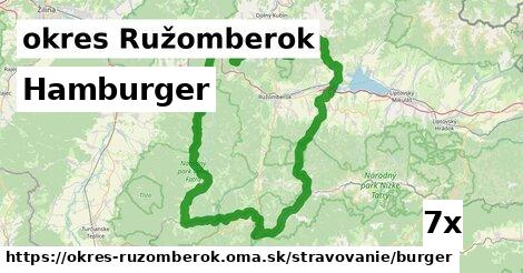 ilustračný obrázok k Hamburger, okres Ružomberok