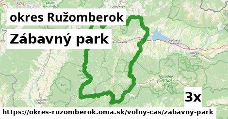zábavný park v okres Ružomberok
