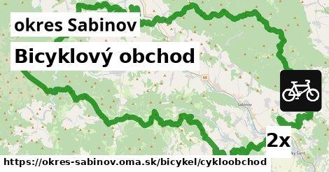 ilustračný obrázok k Bicyklový obchod, okres Sabinov
