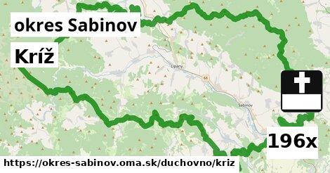 ilustračný obrázok k Kríž, okres Sabinov