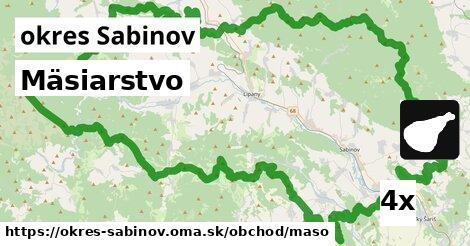 ilustračný obrázok k Mäsiarstvo, okres Sabinov