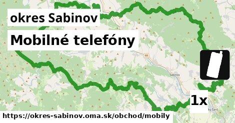 ilustračný obrázok k Mobilné telefóny, okres Sabinov