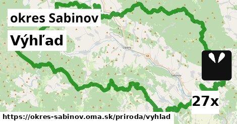 ilustračný obrázok k Výhľad, okres Sabinov