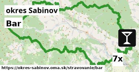 ilustračný obrázok k Bar, okres Sabinov