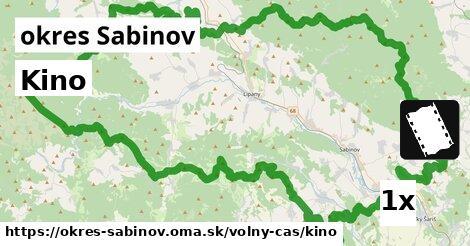 ilustračný obrázok k Kino, okres Sabinov