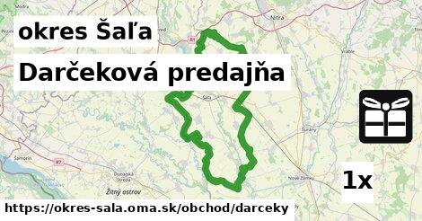 ilustračný obrázok k Darčeková predajňa, okres Šaľa