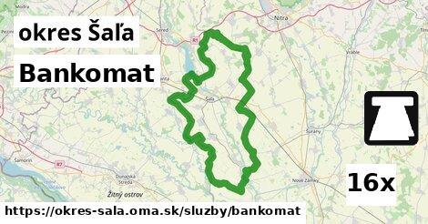 ilustračný obrázok k Bankomat, okres Šaľa