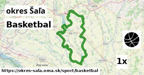ilustračný obrázok k Basketbal, okres Šaľa