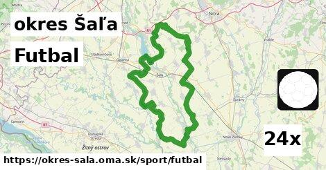 ilustračný obrázok k Futbal, okres Šaľa