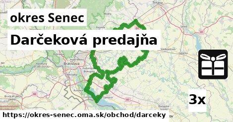 ilustračný obrázok k Darčeková predajňa, okres Senec