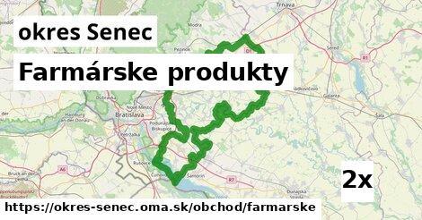ilustračný obrázok k Farmárske produkty, okres Senec