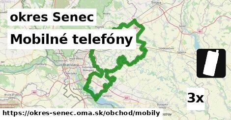 ilustračný obrázok k Mobilné telefóny, okres Senec