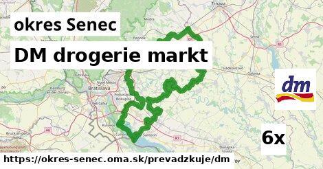 ilustračný obrázok k DM drogerie markt, okres Senec