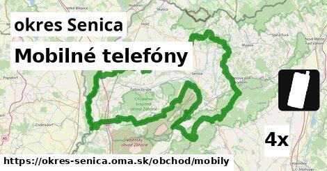 Mobilné telefóny, okres Senica