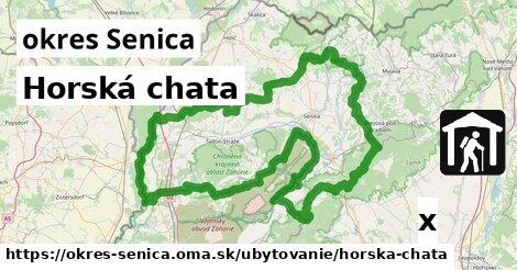 horská chata v okres Senica