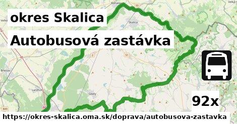 ilustračný obrázok k Autobusová zastávka, okres Skalica