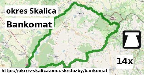 ilustračný obrázok k Bankomat, okres Skalica