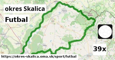 futbal v okres Skalica