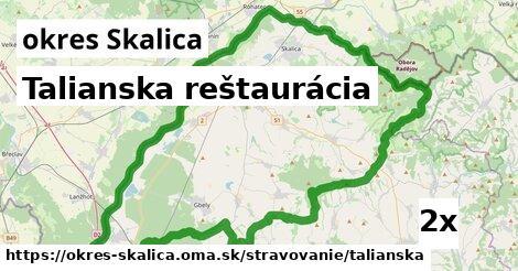 talianska reštaurácia v okres Skalica