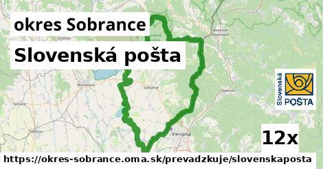 ilustračný obrázok k Slovenská pošta, okres Sobrance