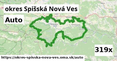 auto v okres Spišská Nová Ves