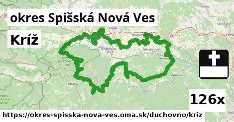 ilustračný obrázok k Kríž, okres Spišská Nová Ves