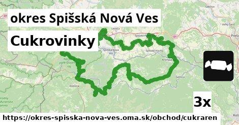 Cukrovinky, okres Spišská Nová Ves