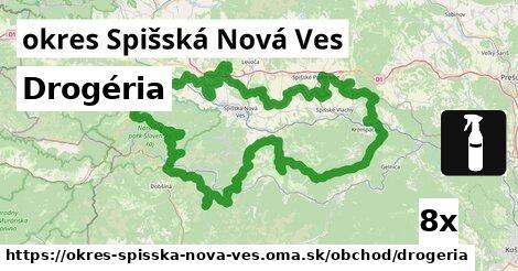 Drogéria, okres Spišská Nová Ves