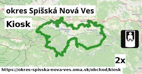 Kiosk, okres Spišská Nová Ves