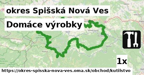 Domáce výrobky, okres Spišská Nová Ves