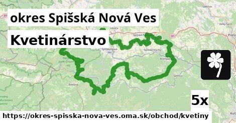 Kvetinárstvo, okres Spišská Nová Ves