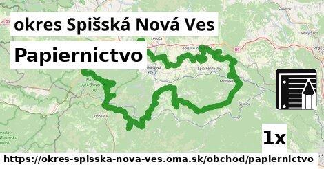 Papiernictvo, okres Spišská Nová Ves