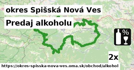 ilustračný obrázok k Predaj alkoholu, okres Spišská Nová Ves