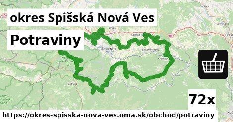 ilustračný obrázok k Potraviny, okres Spišská Nová Ves