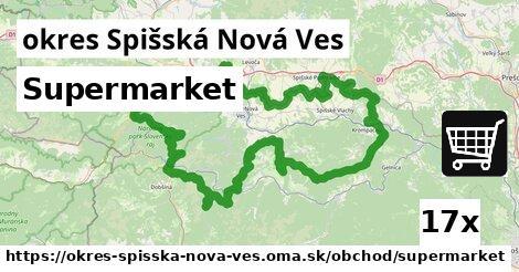 ilustračný obrázok k Supermarket, okres Spišská Nová Ves