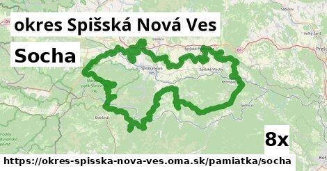 ilustračný obrázok k Socha, okres Spišská Nová Ves