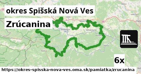 ilustračný obrázok k Zrúcanina, okres Spišská Nová Ves
