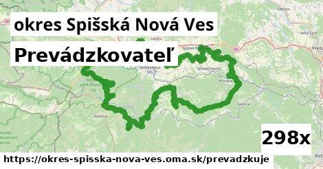prevádzkovateľ v okres Spišská Nová Ves